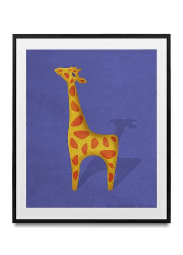 Modern Animals - Giraffe